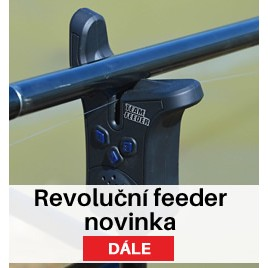 By Döme Team Feeder Elektrický feeder signalizátor záběru