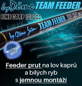 Team Feeder Fine Carp feeder prut