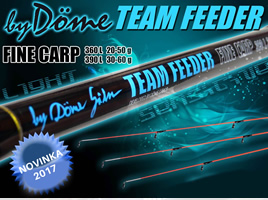 Novinka! Team Feeder Fine Carp Feeder pruty
