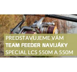 Článek o Spro Team Feeder Special navijáky