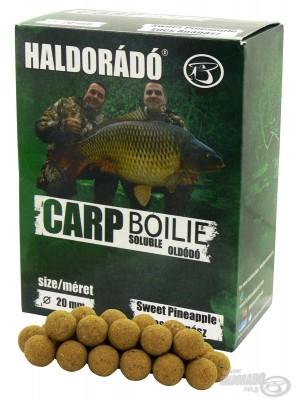HALDORÁDÓ CARP BOILIE SOLUBLE SWEET PINEAPPLE (Sladký Ananas)