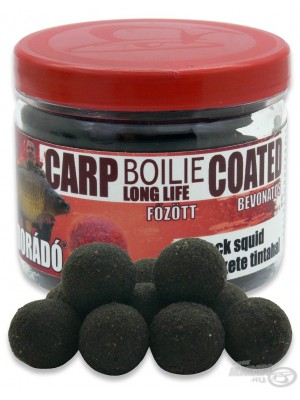 Haldorádó Carp Boilie Long Life Coated Black Squid (Černý Kalamář)