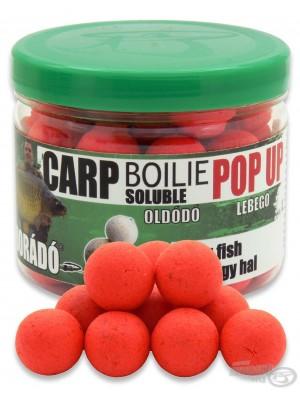 Haldorádó Carp Boilie Soluble Pop Up Big Fish (Velká Ryba)