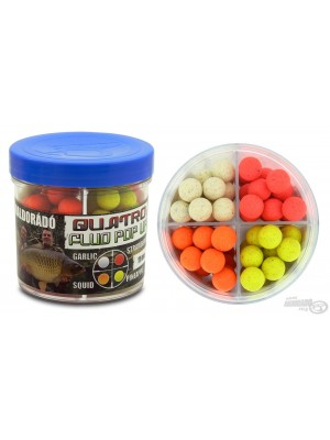 Haldorádó Quatro Fluo Pop Up Boilies 11 mm