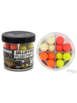 Haldorádó Quatro Fluo Pop Up Boilies 14 mm