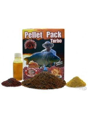 Haldorádó Pellet Pack Turbo - Sladký Ananas - Na leto