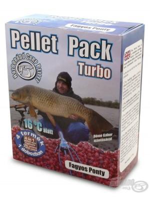 Haldorádó Pellet Pack Turbo - Mrazivý Kapr