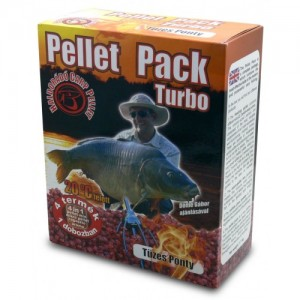Haldorádó Pellet Pack Turbo - Ohnivý Kapr - Na leto