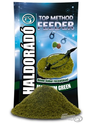 Haldorádó Top Method Feeder Maximum Green (Zelené Koření)