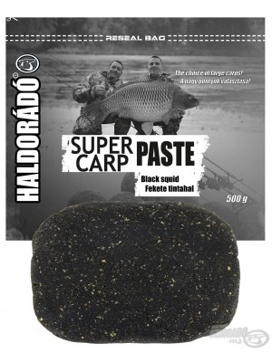 Haldorádó Super Carp Paste Black Squid (Černý Kalamář)
