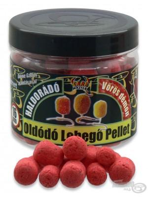 Haldorádó Rozpustné Plovoucí Pelety - Červený ďábel - jahoda