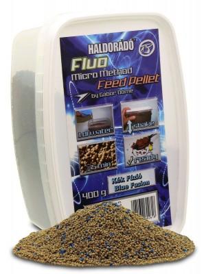 Haldorádó Fluo Micro Method Feed Pellet - Modrá Fuze / Blue Fusion