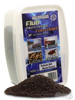 Haldorádó Fluo Micro Method Feed Pellet - Black Power (Černá Síla)