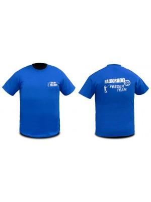 Haldorádó Feeder Team tričko s krátkým rukávem bez límce 4XL