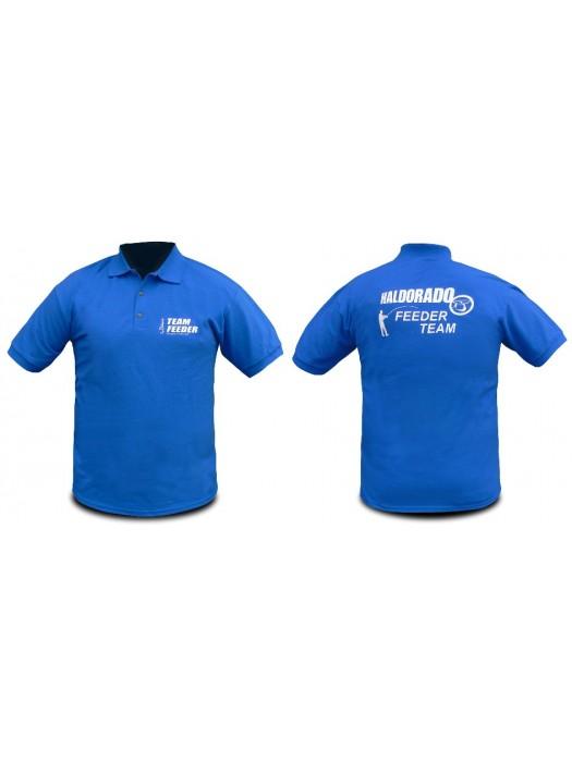Haldorádó Feeder Team tričko s krátkým rukávem a límečkem 3XL