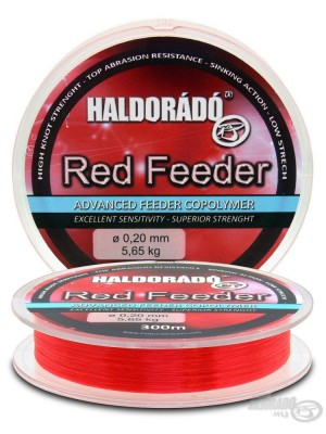 Haldorádó Red Feeder 0,18mm / 300m - 4,55 kg