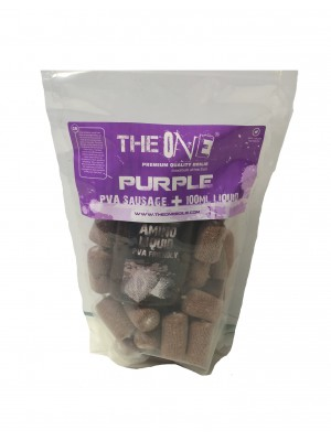 The Purple One PVA Sausage + 100ml aroma