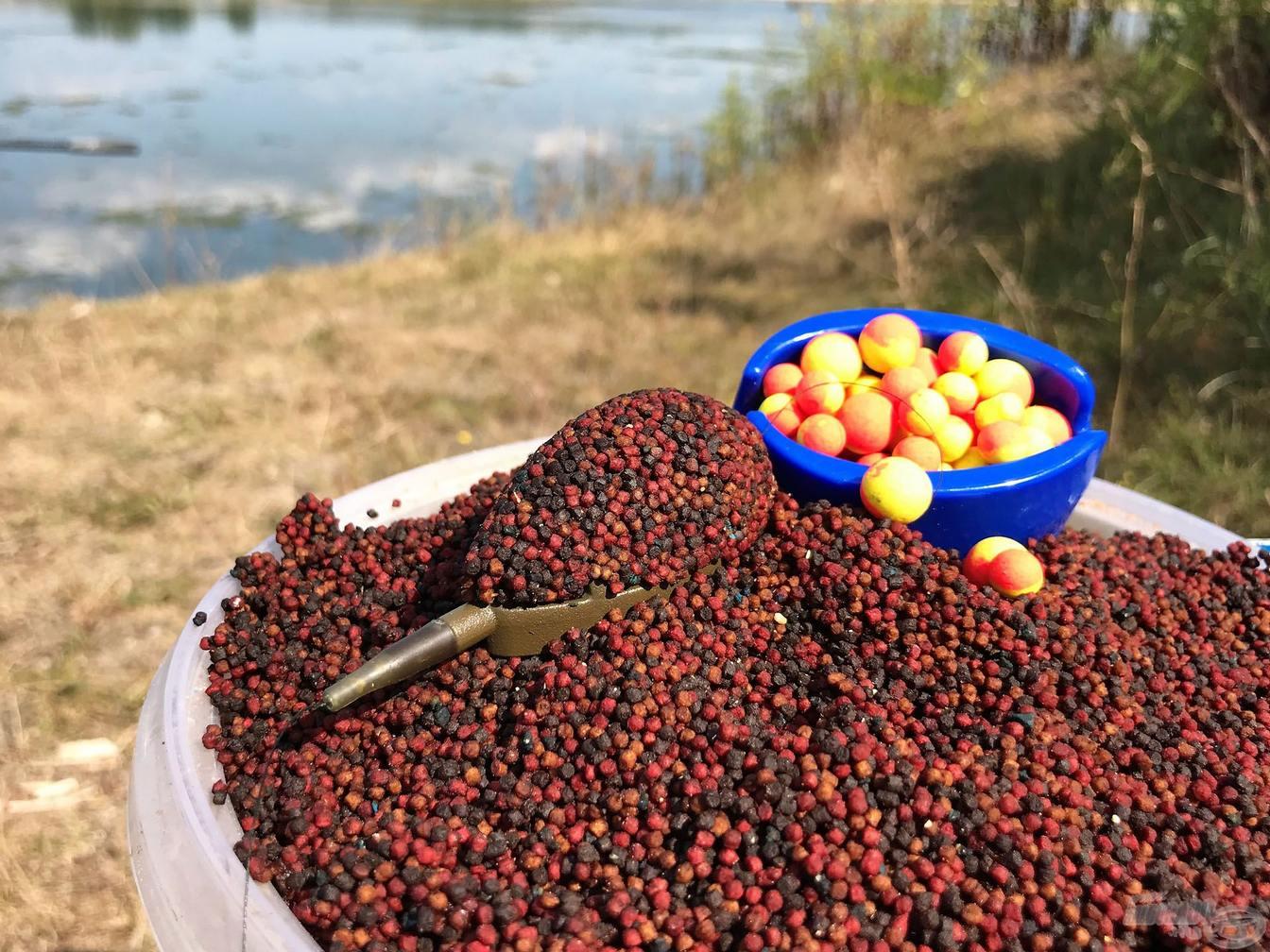 Rybarske krmiva a nastrahy na lov v podzimu a jeseň