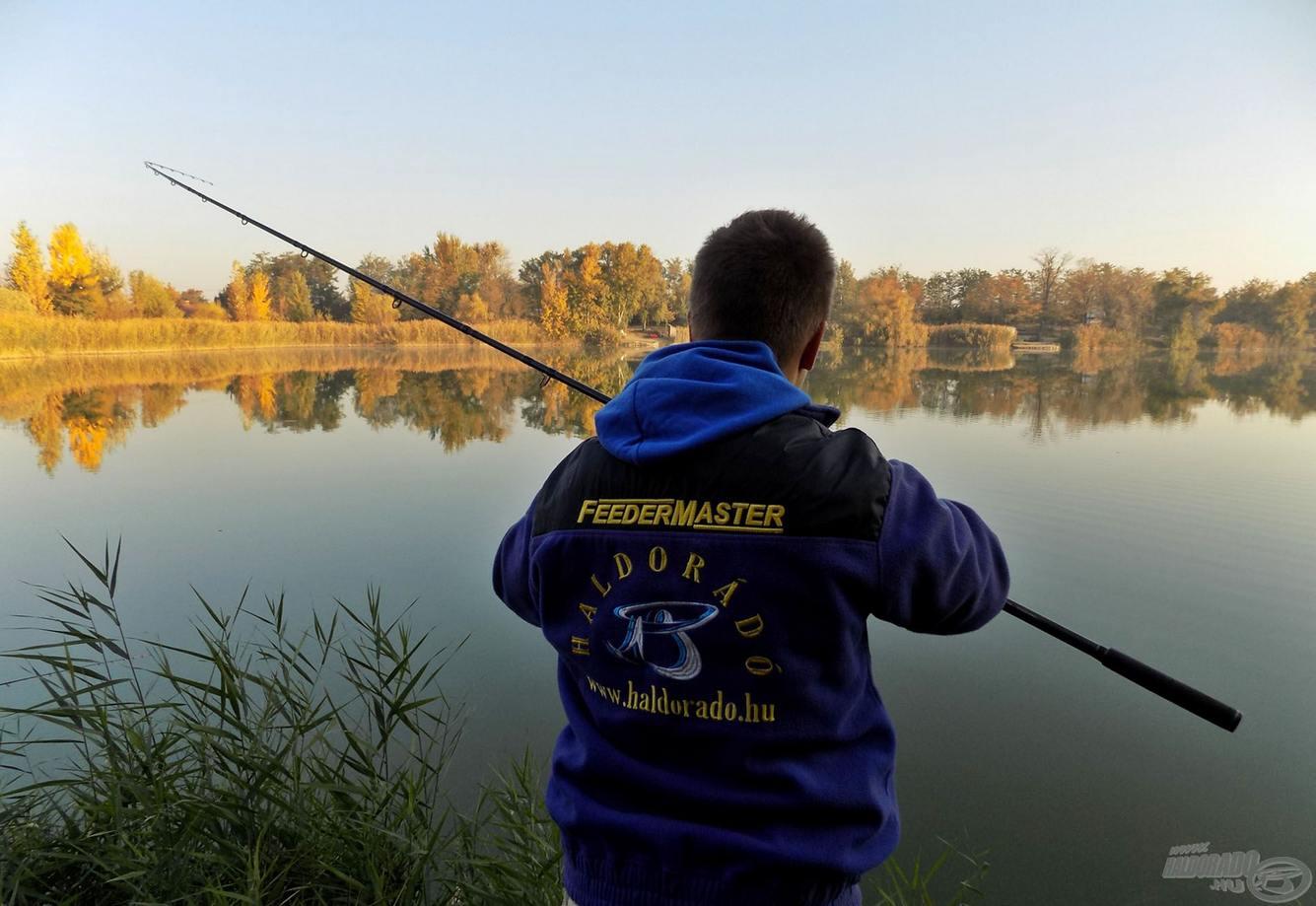 Lov na velkých ryb v studene vode