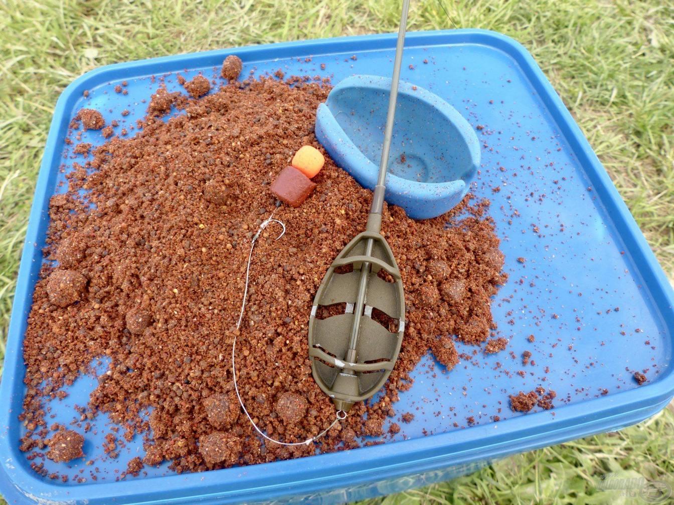 Rapid feeder na velkých kaprů