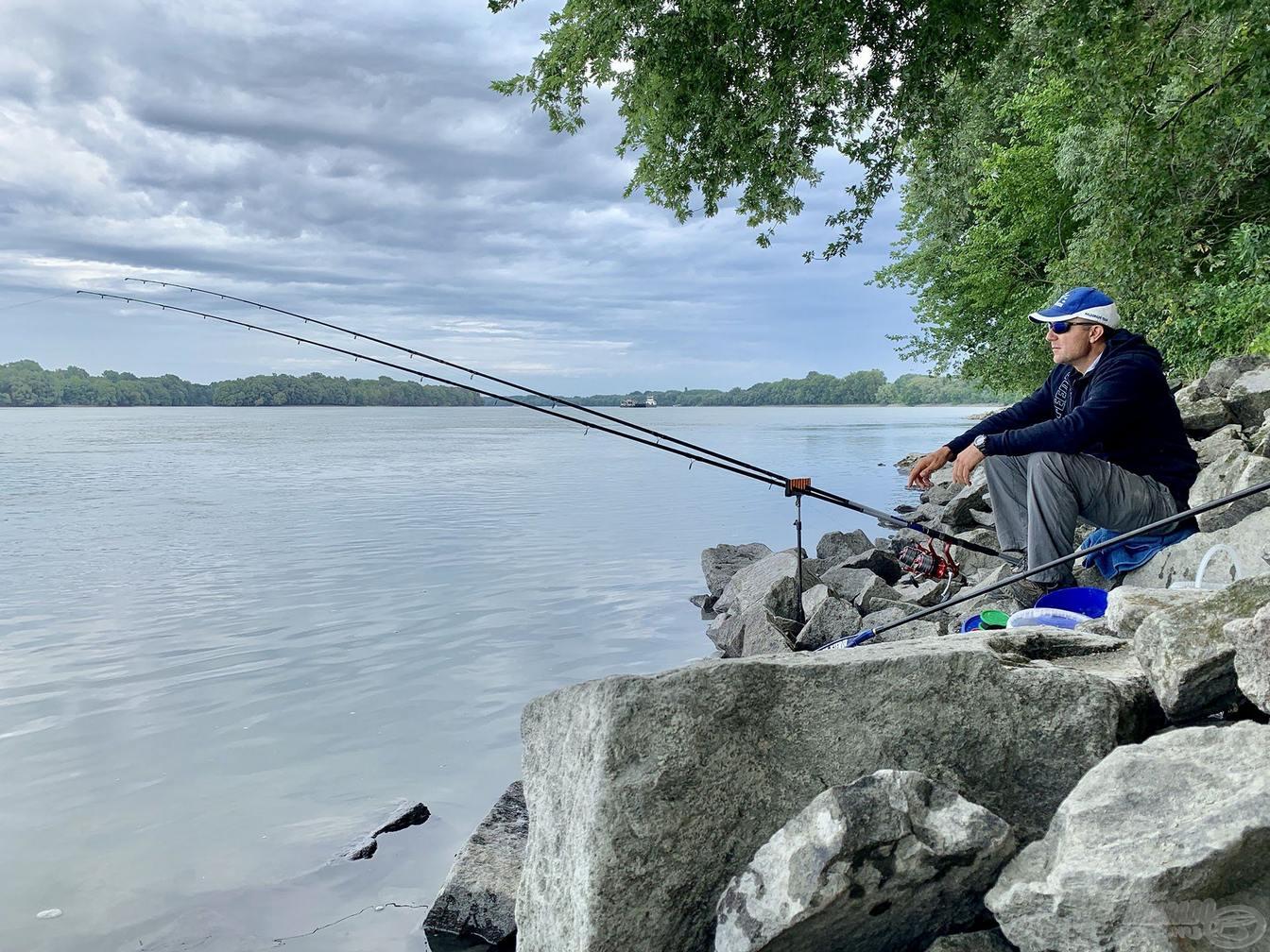 Lov na řece s Haldorado big river