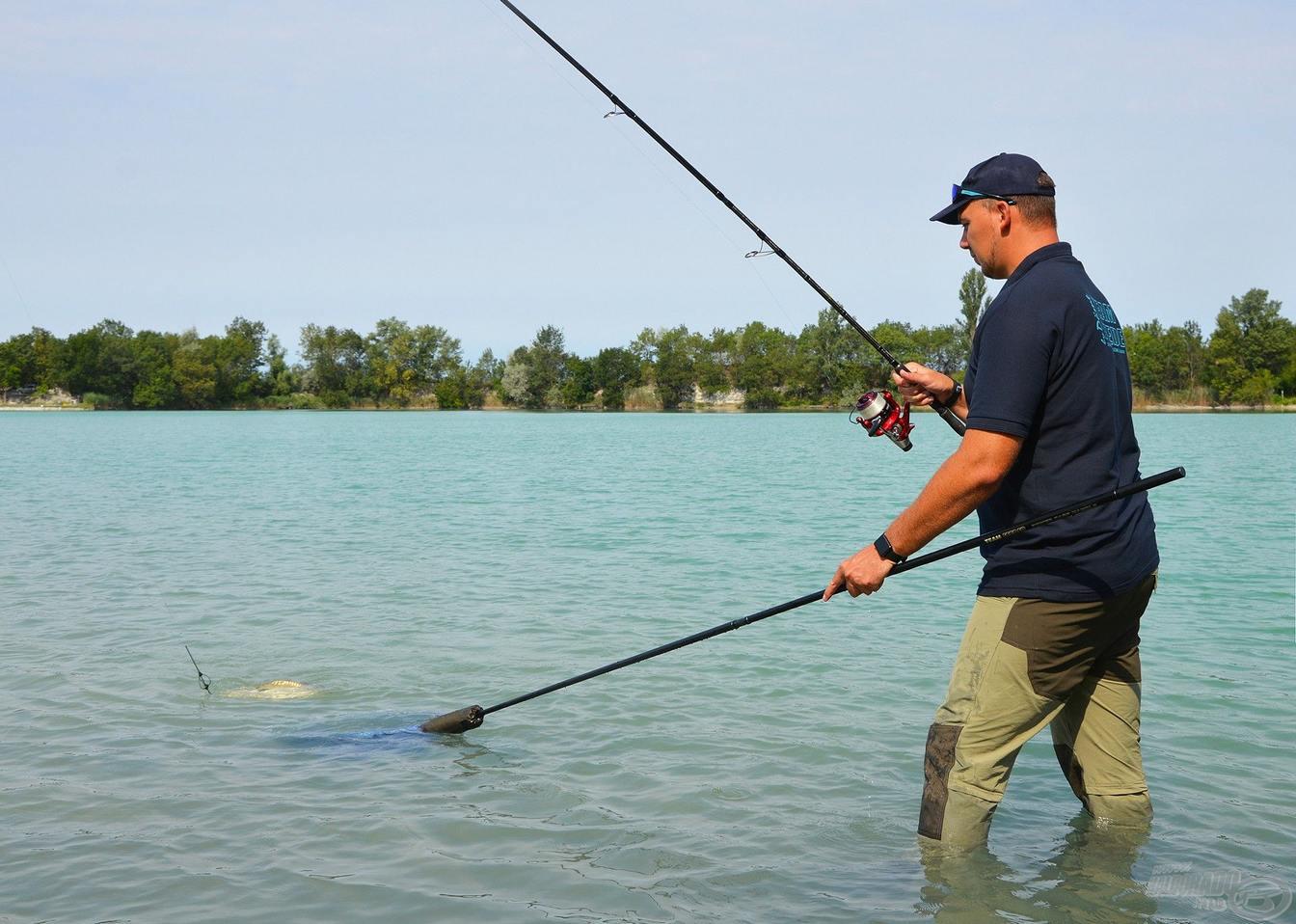 Lov na kaprov v hlboke vode